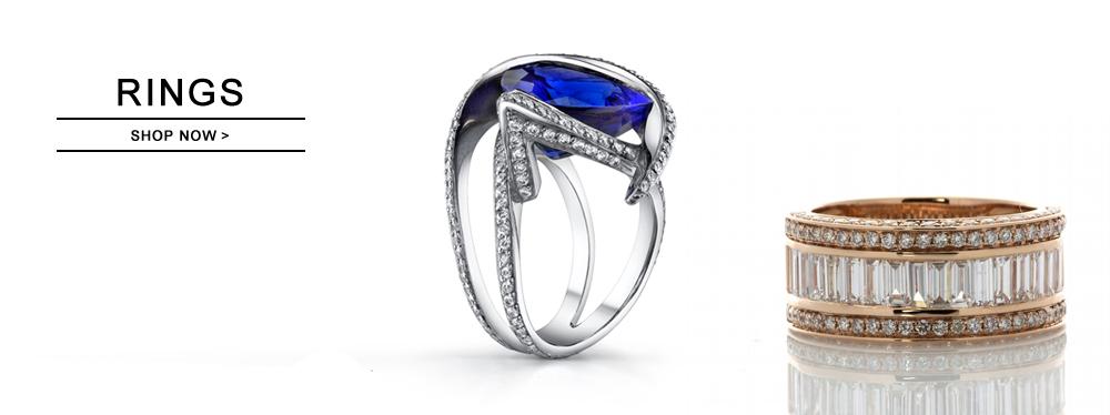 Exquisite Diamond Rings
