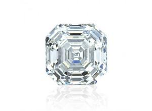 Asscher Cut Diamond 1.27 J VVS2 AGI