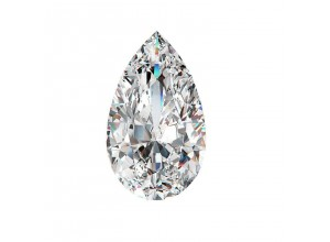 Pear Cut Diamond 0.34 E SI2 AGI