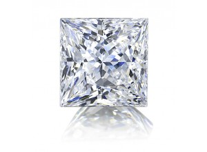 Princess Cut Diamond 0.5 E VS1 HRD